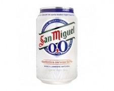 San Miguel  0,0 33cl